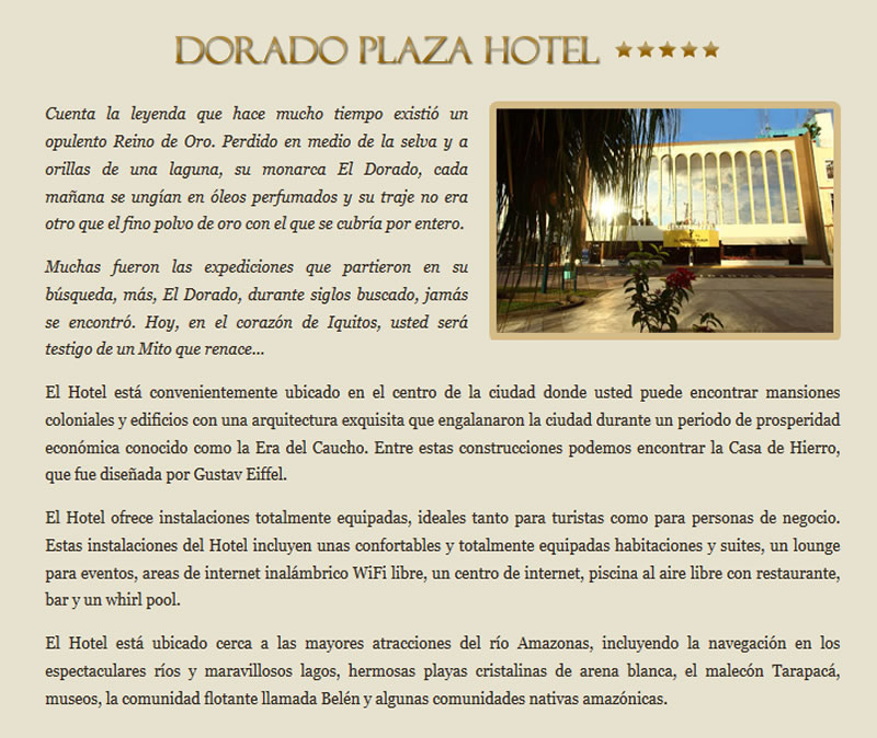 hermosas habitaciones de polvo fotos Pagina Oficial HOTEL DORADO PLAZA IQUITOS Iquitos Peru
