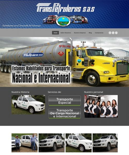 Screenshot_2019-07-02 Transpetroleros Sas – Empresa del Putumayo que cuenta con catorce (14) años de experiencia en la indu[...]