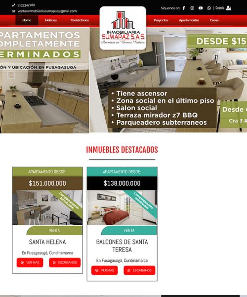 Screenshot_2021-04-19 Home - Inmobiliaria Sumapaz