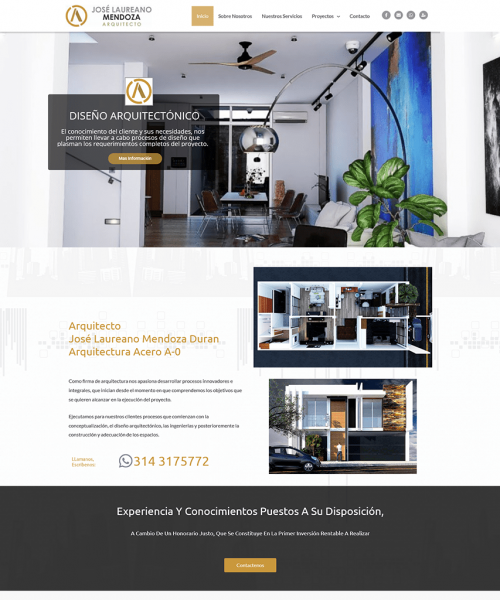 Screenshot_2021-04-19 Inicio - Arquitectura Acero